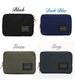 80AL Japan Design Waterproof Porter Mini Wallet with Rear Coin Compartment